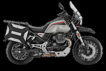 Moto Guzzi V85 TT rechte Seitenansicht Lackierung