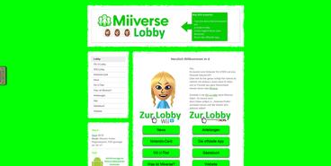 Miiverse-Lobby