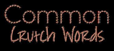 crutch words