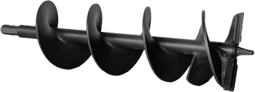 Erdbohrer mit Flügelschneiden / Bohrer / Baggerzubehör / Bagger