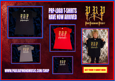 NEW PRP LOGO SHIRTS AVAILABLE