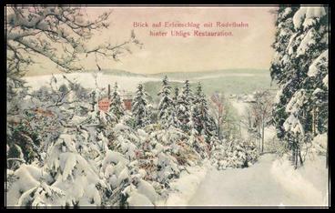 Postkartenansicht der Gutsbergauffahrt