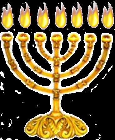Devant le trône, brûlent 7 lampes ardentes qui sont les 7 esprits de Dieu.Les lampes sont associées à la lumière, à la connaissance, au discernement et à la sagesse. L'esprit saint est la Puissance de Dieu en action, son énergie vive, sa force agissante.