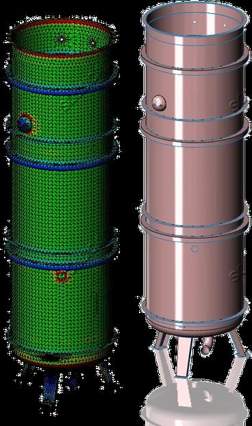 calculs des appareils sous pression - ingénierie solucad en 47