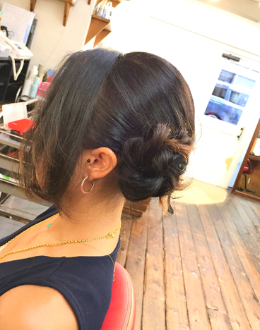 横浜の無責任美容師☆奥条勇紀☆ヘアセットで楽しい結婚式を・・・