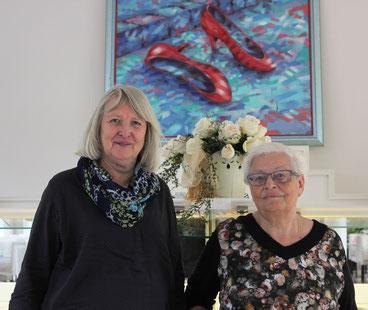 Ein starkes Team: Bundesfrauenreferentin Marianne Herrendörfer (links im Bild) und Bundesfrauensozialreferentin Rita Jonitz.