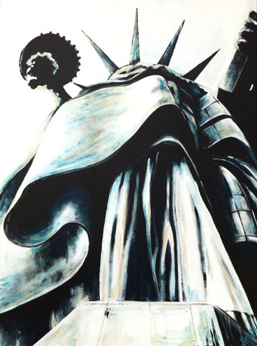 """New York Diva"", 2012,  acrylic on canvas, 60x80"