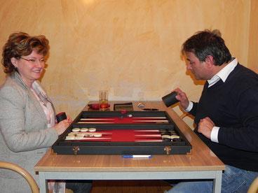 Links: Ilona Klein - Gewinnerin des Lady's Prize