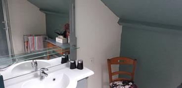 Salle de bain suite balcon