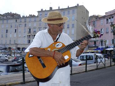 Bastia, Straßenmusiker