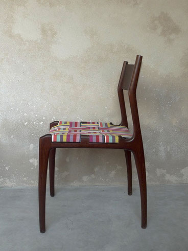 chaises Gessef, chaises italiennes, chaises Gio Ponti, chaises design scandinave, JOLI