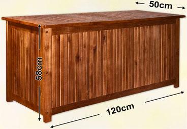 cassapanca #baule #legno #giardino #esterno #riponi #cuscini #mobile