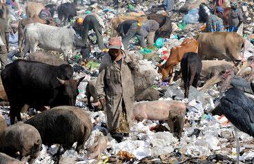 La discarica di Dandora, Nairobi-Kenya