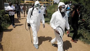 Operatori sanitari in Africa