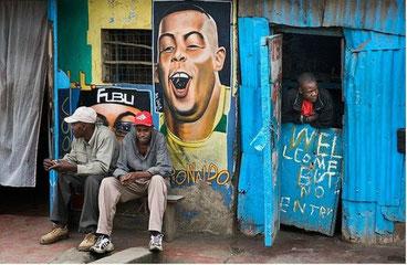 Welcome... but not entry. Nairobi, Kenya