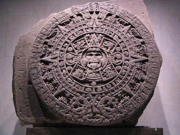 Pierre du Soleil, calendrier sacré utilisé pour le Tonalpohualli