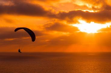 Fallschirm Guadeloupe, Karibische Inseln, Karibik