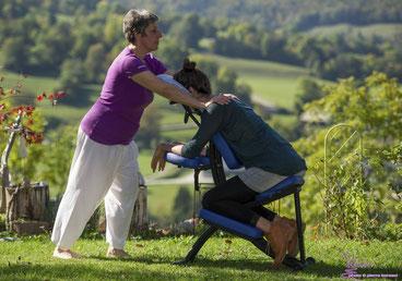 Massages assis séminaires organisation évenements entreprise. SIBOS