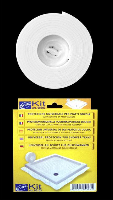 Kit di protezione universale per piatti doccia ceramici