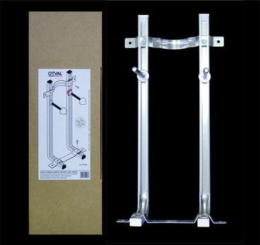 Staffa per vasi e bidet sospesi a montaggio rapido