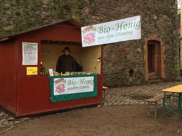 Unser Weihnachtsmarktstand auf FestungMark in Magdeburg