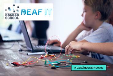 Hacker School goes DeafIT - Inspirer gesucht!