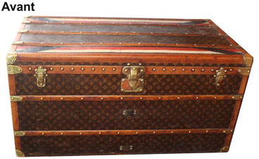 Louis vuitton courier trunk to remake low price
