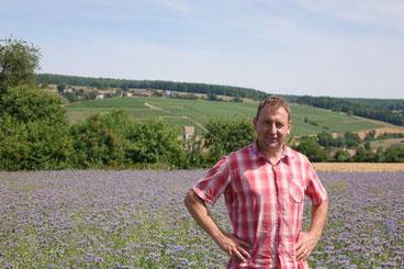 Olivier Picart a fait 80 ares de jachère apicole.