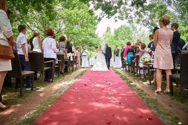 -® Birkenhof Gols Hochzeit, Traumhochzeit im Garten