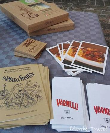 Prodotti tipici delle Marche: Amaro Sibilla, Varnelli e maccheroncini di Campofilone