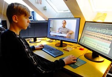 Mattis Vogel Praktikum City-TV citytv Gerd Miethe Schauspieler Filmschnitt Adobe Premiere Pro CS5