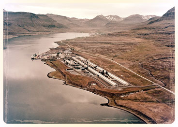 Usine d'aluminium de Reyðarfjördur, fjords de l'est