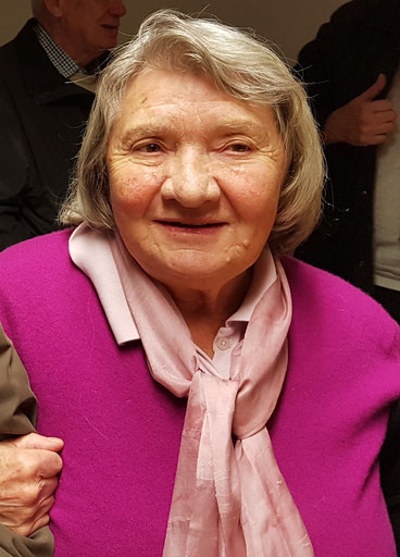 Prof. Dr. Maria Mies im  Januar 2018  © Kölner Frauengeschichtsverein, Fotografin: Irene Franken