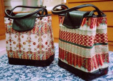 名古屋帯で作ったバッグ