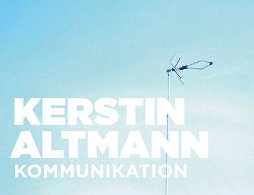 PR - und mehr! Kontakt Kerstin  Altmann Kommunikation Hamburg. Kommunikation für Marken.