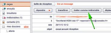 spam chez Orange