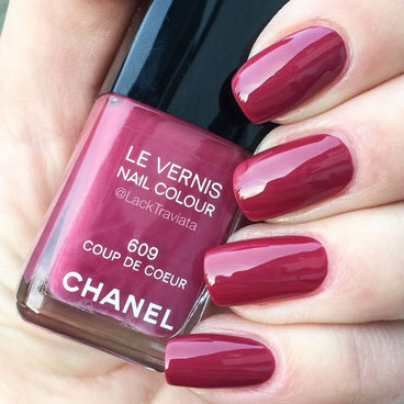 swatch CHANEL COUP DE COEUR 609 by LackTraviata