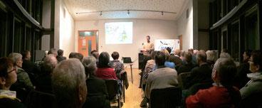 Viele Zuhörer informierten sich im Museum der Eulenburg. - Foto: Dr. Nick Büscher