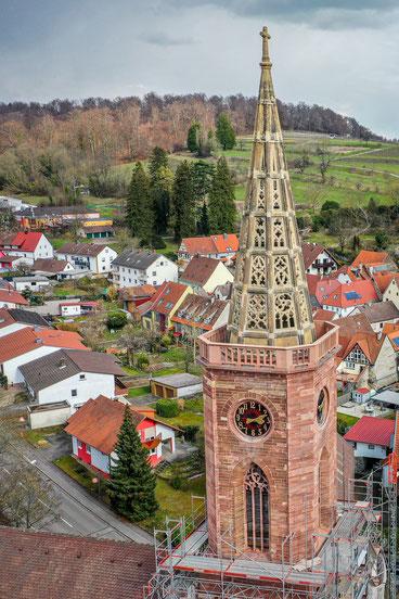 Luftbild Durlacher Tor