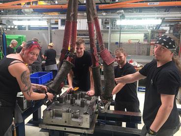 Training Produktion Mitarbeiter