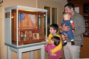 Mechanische Spieluhr vom Drehorgelbauer Hansjörg Leible aus Kandern Holzen