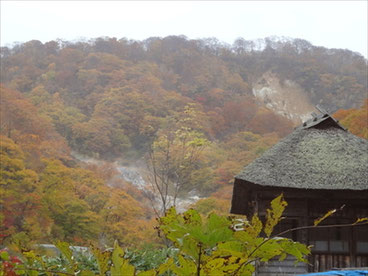 紅葉風景の秋田 by SLP