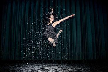 Ela Steiner beim Tanzen