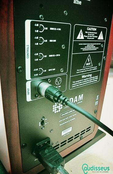 ADAM Column MK3 - Praxistest auf www.audisseus.de / Foto: Michael Gorny