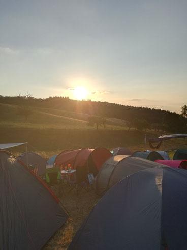 Festival-Campen im Odenwald / Nonstock Farmers Edition 2018