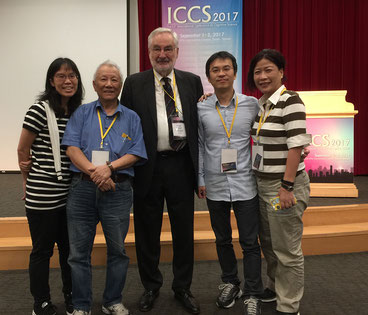 Picture of Prof. Dr. Ernst Poeppel and Prof. Ovid Tzeng, Honorary President of the ICCS and former Minister in Taiwan, leading cognitive scientist, and a good friend