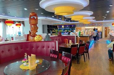 Modernes Asia-Restaurant