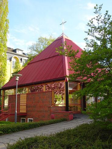 Zionskirche zu Weihnachten