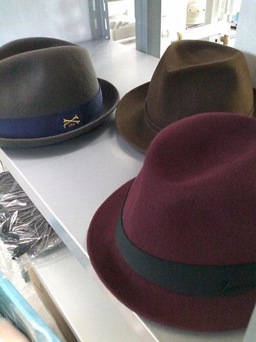 ボルサリーノの帽子クリーニング専門店