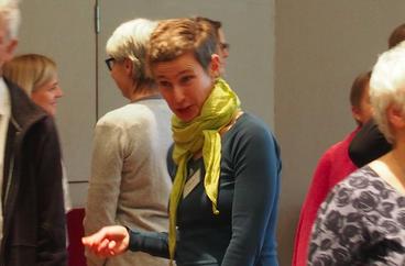 Non-verbale Kontaktaufnahme (Foto: Therese Walther)